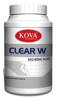KEO BÓNG NƯỚC KOVA CLEAR W 1