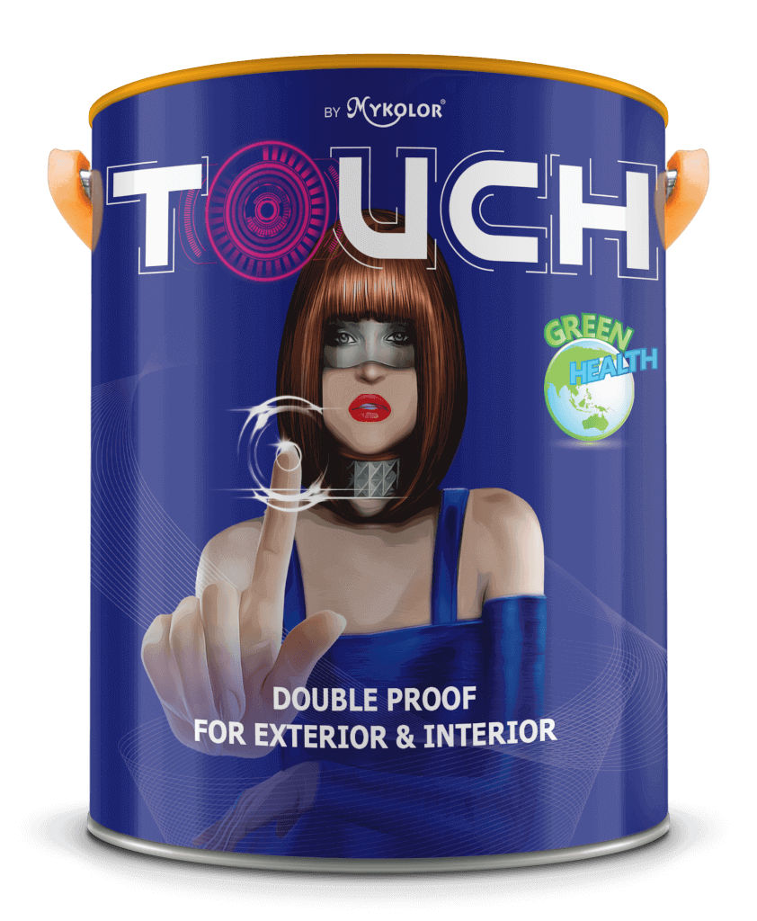 MYKOLOR TOUCH DOUBLE PROOF FOR EXTERIOR & INTERIOR 1