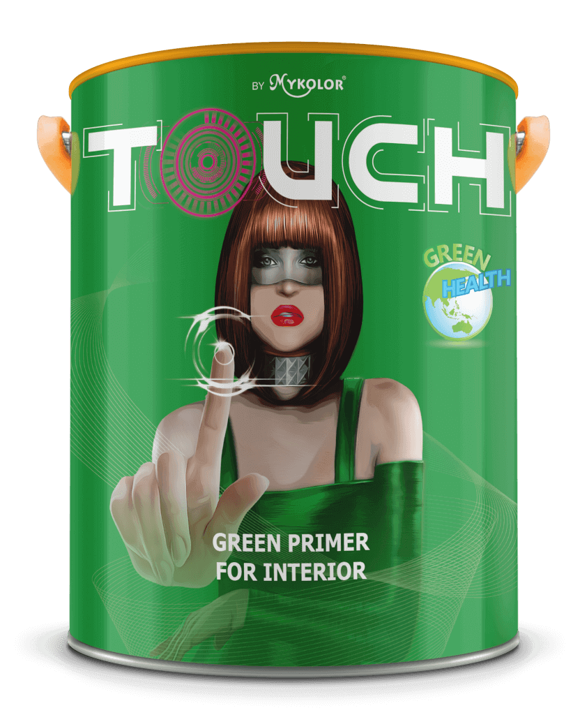 MYKOLOR TOUCH GREEN PRIMER FOR INTERIOR 1