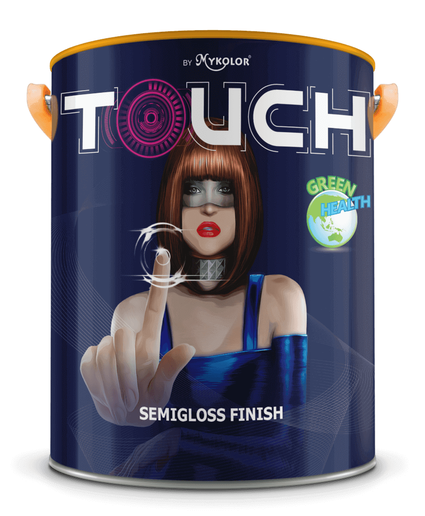 MYKOLOR TOUCH SEMIGLOSS FINISH 1