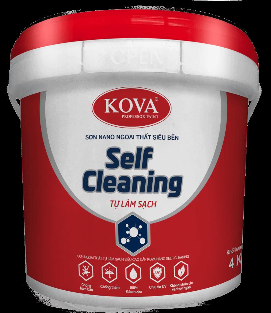 SƠN KOVA NANO SELF- CLEANING TỰ LÀM SẠCH 1