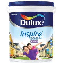 DULUX INSPIRE NGOẠI THẤT SẮC MÀU BỀN ĐẸP BỀ MẶT BÓNG 1