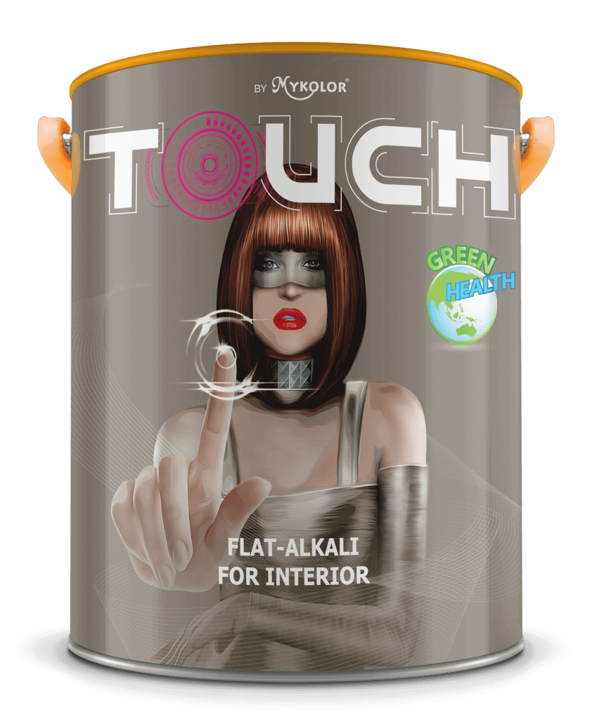 MYKOLOR TOUCH FLAT - ALKALI FOR INTERIOR 1