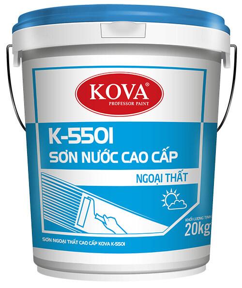 SƠN NGOẠI THẤT CAO CẤP KOVA K-5501 1