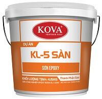 SƠN CÔNG NGHIỆP EPOXY KOVA KL-5 SÀN 1