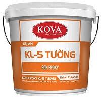 SƠN CÔNG NGHIỆP EPOXY KOVA KL-5 TƯỜNG 1