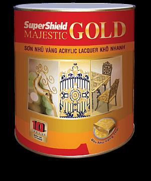 SƠN NHŨ VÀNG SUPERSHIELD MAJESTIC GOLD - LACQUER 1