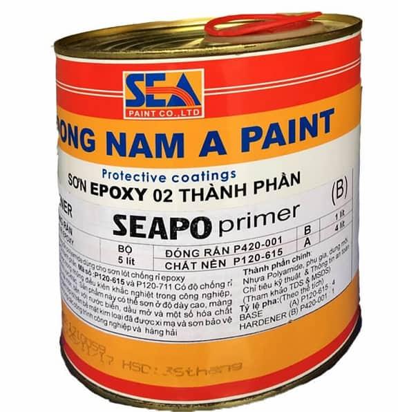 SƠN EPOXY 2 THÀNH PHẦN SEAPO 6