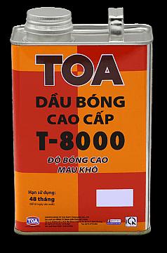 DẦU BÓNG CAO CẤP TOA T-8000 1