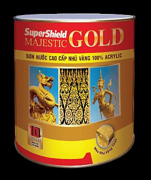 SƠN NƯỚC CAO CẤP NHŨ VÀNG SUPERSHIELD MAJESTIC GOLD 1