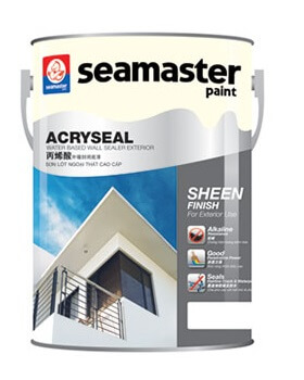 SƠN LÓT ACRYSEAL WATER BASED WALL SEALER EXTERIOR 1