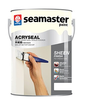 SƠN LÓT ACRYSEAL WATER BASED WALL SEALER INTERIOR 1