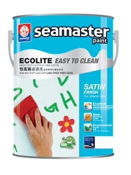 SƠN NỘI THẤT ECOLITE EASY TO CLEAN 1