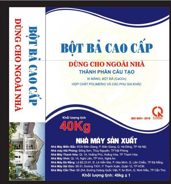 BBNN – Bột bả cao cấp dùng ngoài nhà Việt Mỹ 1