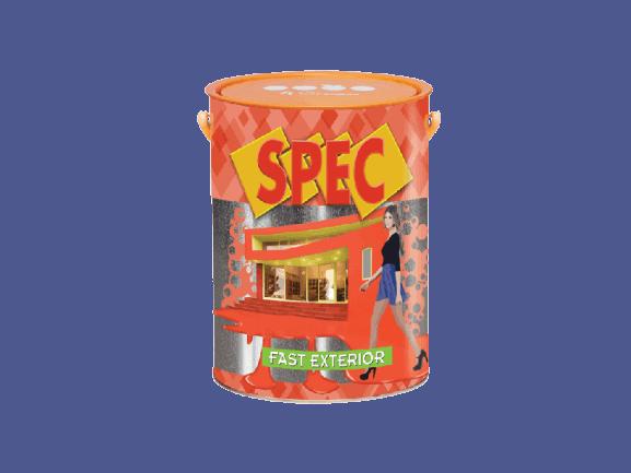 SƠN NGOẠI THẤT KINH TẾ LÁNG MỜ SPEC FAST EXTERIOR 1