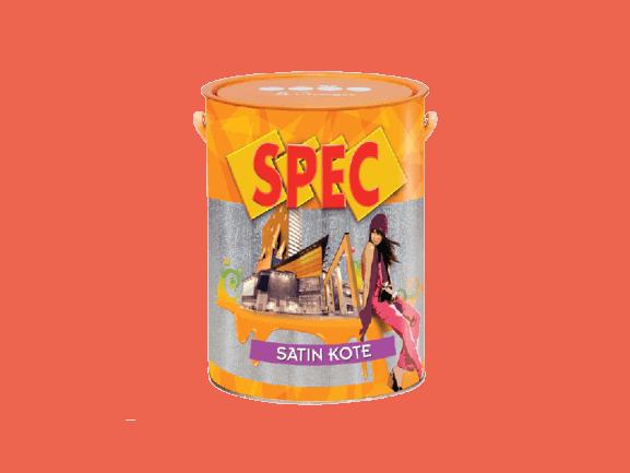 SƠN NGOẠI THẤT CAO CẤP BÓNG SPEC SATIN KOTE 1