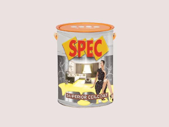 SƠN TRẦN TRẮNG SÁNG CAO CẤP SPEC SUPERIOR CEILCOAT 1