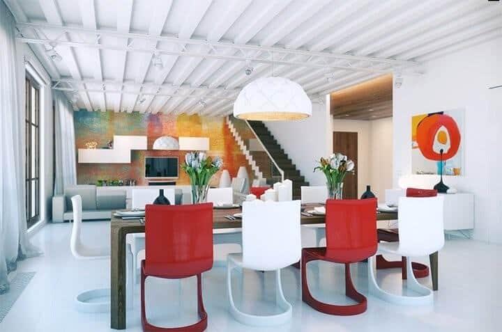 3 cách phối màu sơn nhà hiện đại độc đáo cho không gian