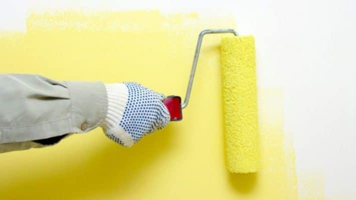 Phương pháp sơn tường nhà