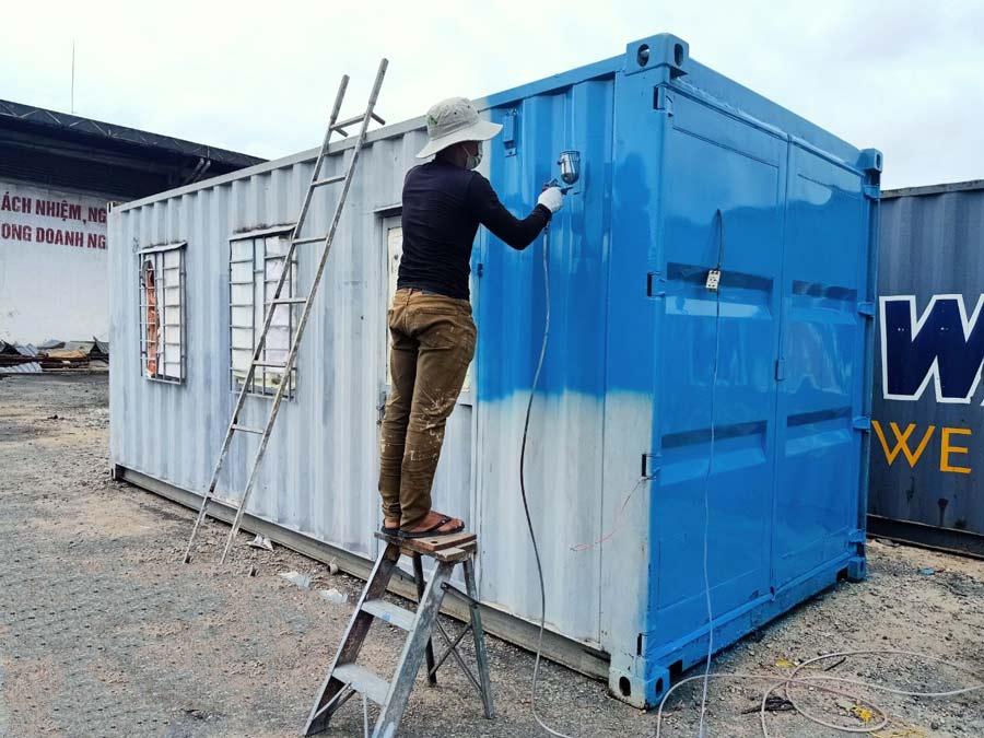 Sơn phủ chuyên dùng cho Container