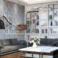 Cách trang trí nhà bằng sơn nước cực kì đẹp mắt và sang trọng 6