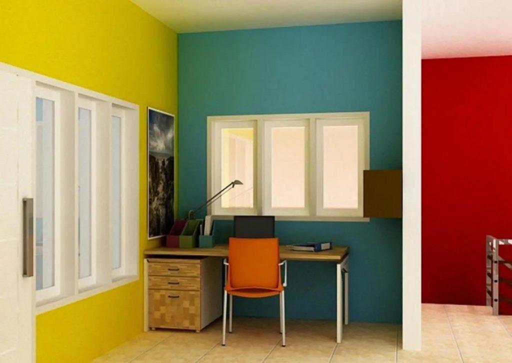 nguyên tắc phối màu sơn nhà