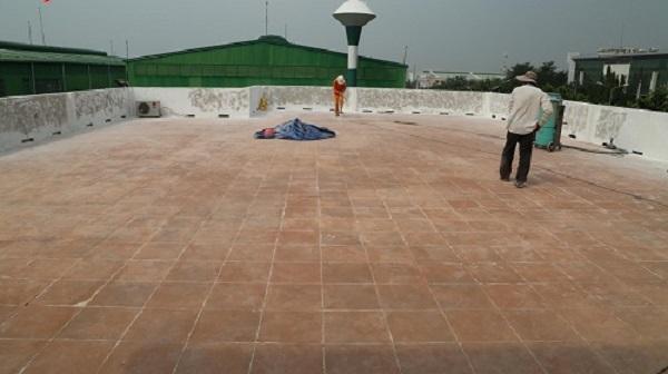 quy trình sơn chống thấm sân thượng