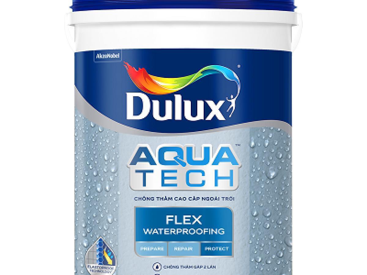 Sơn Chống Thấm Không Pha Xi Măng Dulux Aquatech