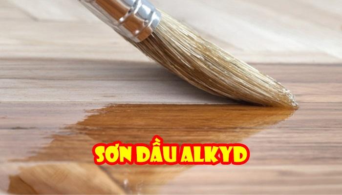 Sơn gốc dầu Alkyd
