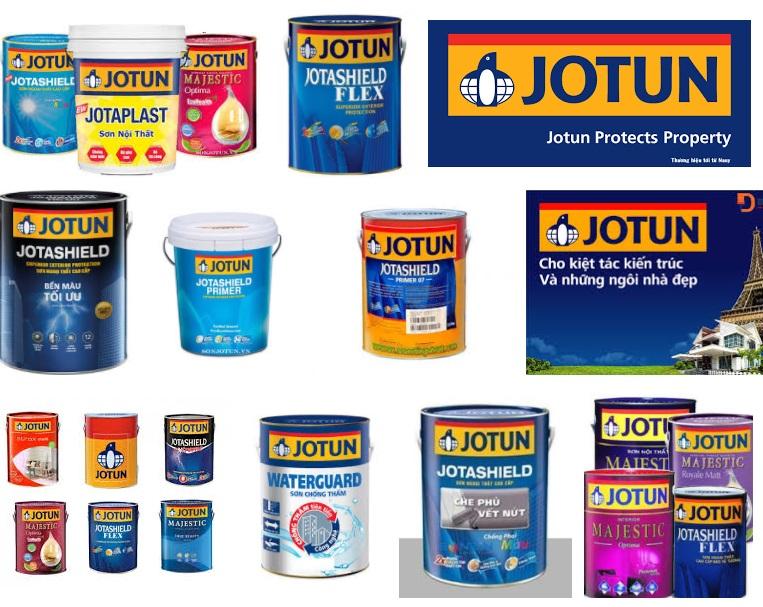 Các dòng sơn Jotun phổ biến tại Việt Nam