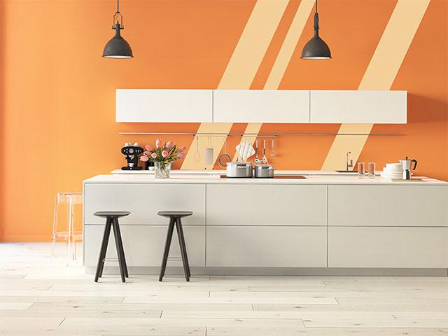 Lựa chọn màu sơn cho nhà bếp đẹp