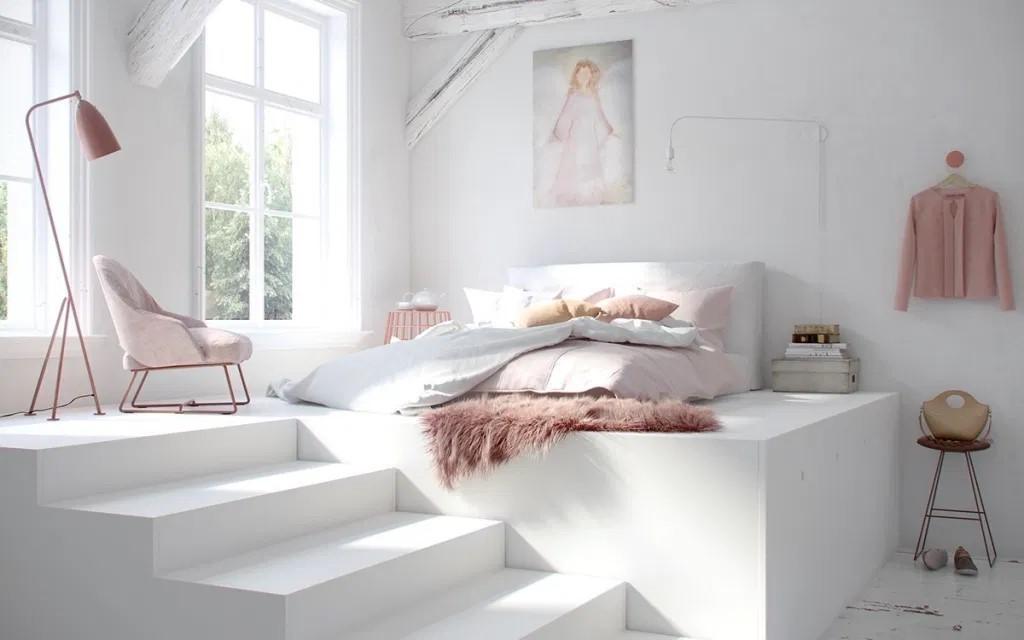 màu sơn phòng ngủ cho người mệnh kim