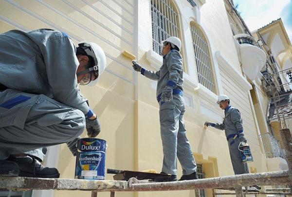 kinh nghiệm sơn nhà cũ