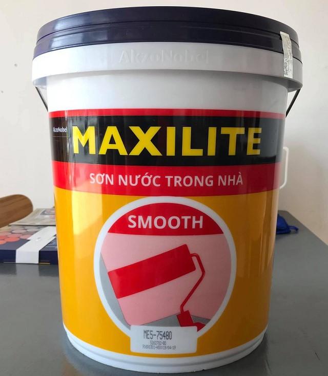 Sơn Nước Nội Thất Maxilite Smooth