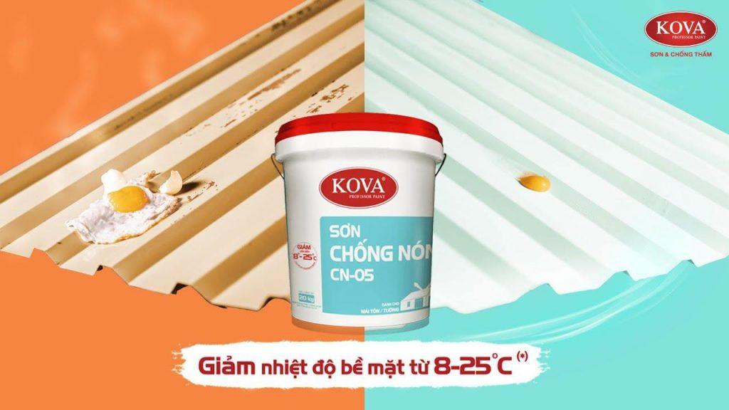 Sơn Chống Nóng Mái Tôn Kova CN-05